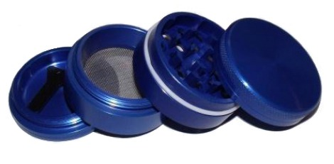 Spliff Grinder 50mm Blue